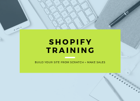Shopify Training Course