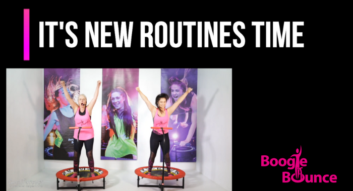 New Routine promo video Sept/Oct 19