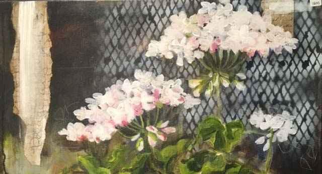 Kreative Blomster og collage