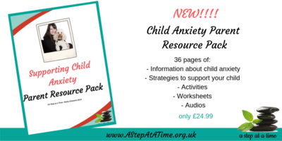 Child Anxiety Parent Resource Pack