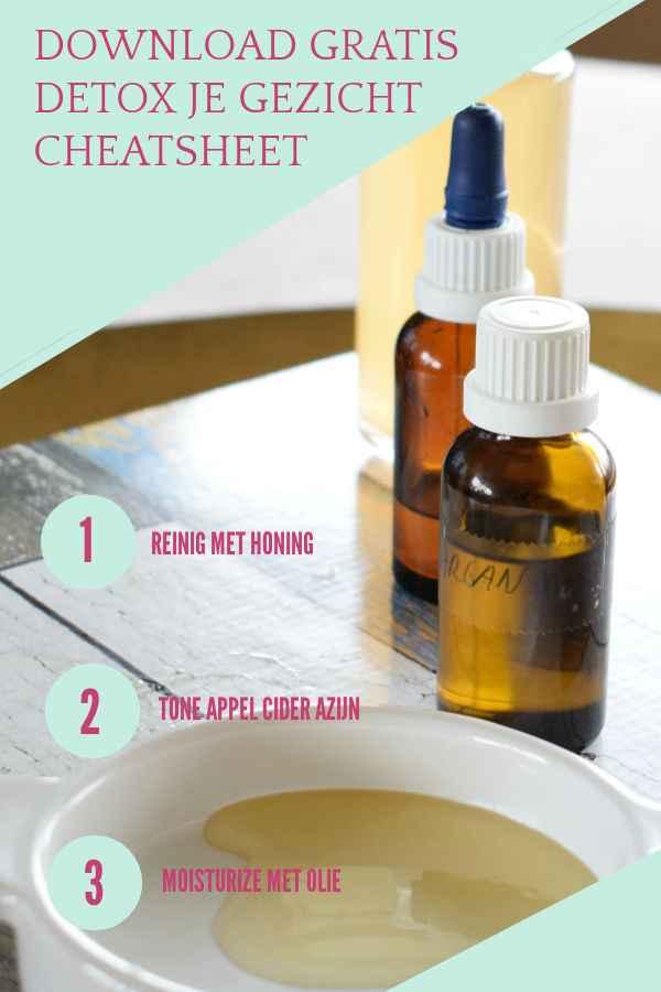 Verwen je gezicht met een moisturizer van puur natuurlijke ingrediënten | natuurlijke verzorging | gezichtverzorging