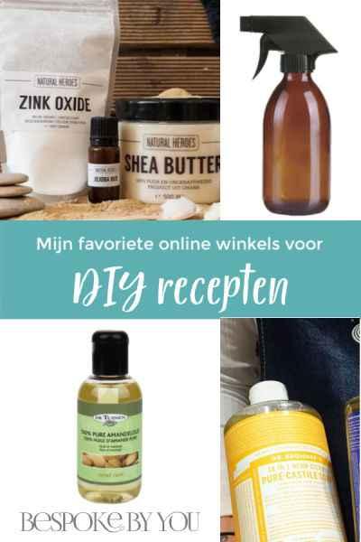 Mijn favoriete online winkels voor diy ingrediënten