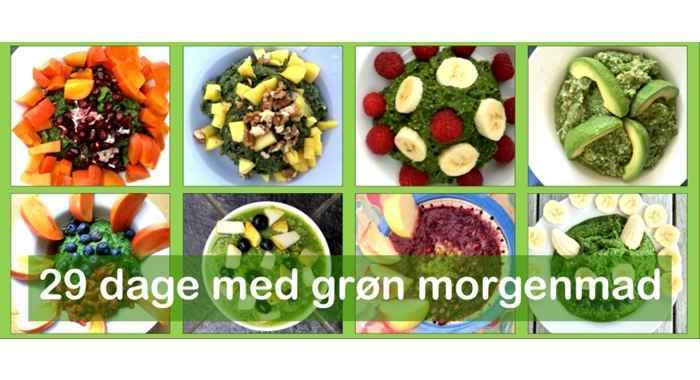29 dage med grøn morgenmad