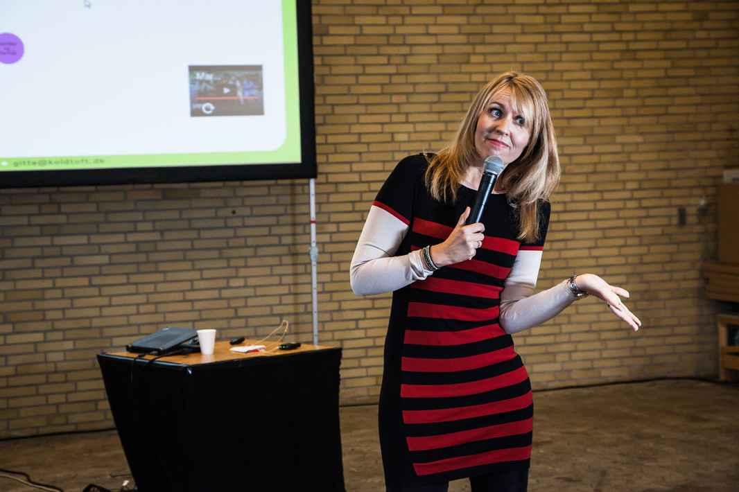 Gitte Koldtoft foredrag