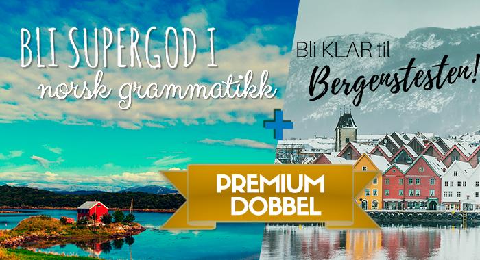 Bli klar til Bergenstesten (Premium dobbel BT)