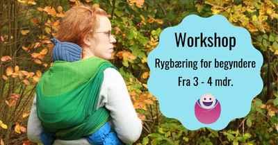 LIVE workshop i rygbæring - fastvikle ryg - 31. oktoberi Viby Sjælland