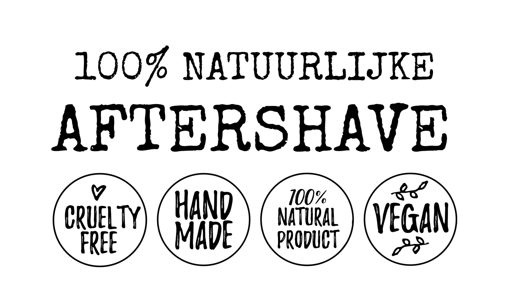aftershave etiket