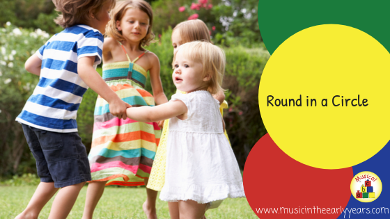 Round in a circle