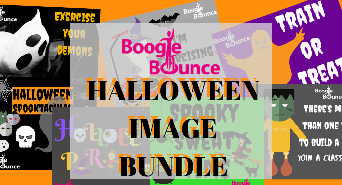 Boogie Bounce Halloween Image Bundle