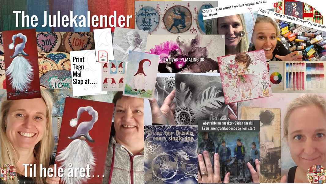 The julekalender collage 4