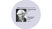 Bertrand Russell's Criticisms (1)