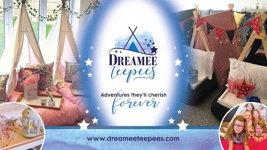 Dreamee Teepees Header Image