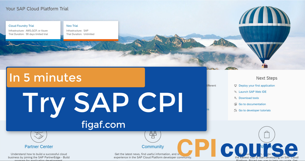 Get-a-SAP-CPI-system-in-5-minutes