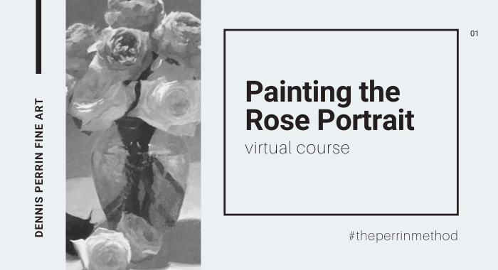 Painting the Rose Portrait