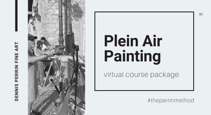 The Perrin Method™ Plein Air Course Package