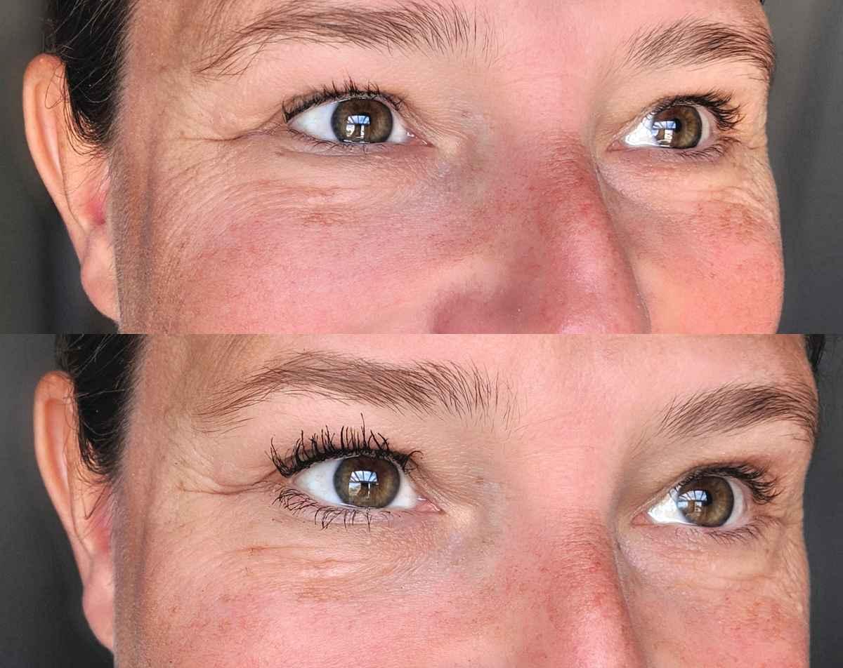 4D mascara en wimperserum voor langere wimpers en meer volume