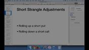 Short Strangle Adjustments