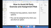 How to avoid all early exercise and assignment risk.mp4