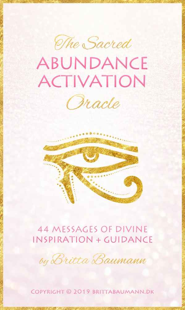 The Sacred Abundance Activation Oracle