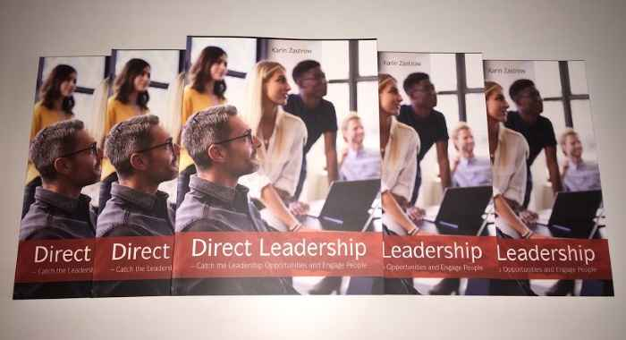 Direct Leadership book by Karin Zastrow - 700x380