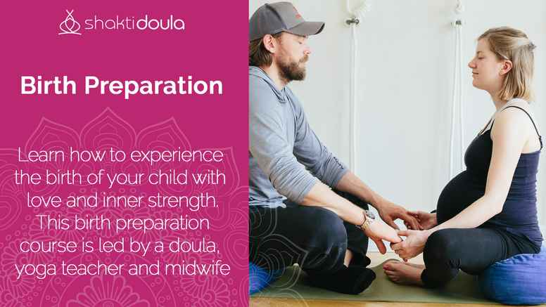 Birth Preparation with doula and authorised midwife - in English