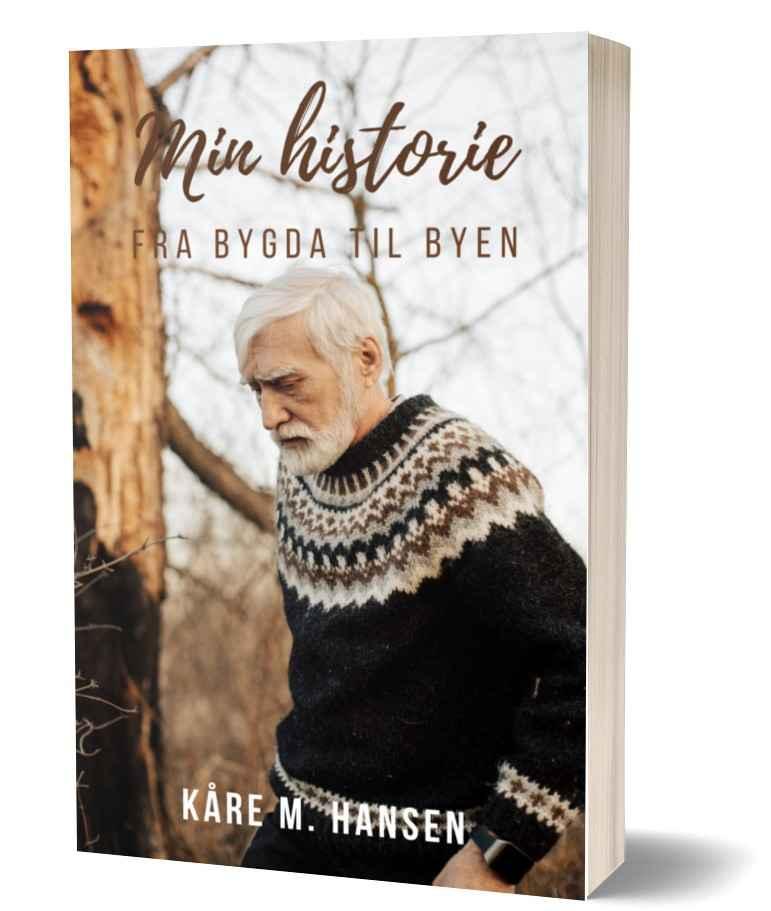 Kåre M Hansen paperback UTEN SVART BAK med smalt omriss