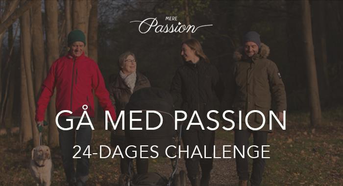 Gå med Passion plakat
