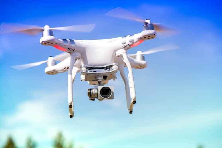 Leje af DJI Inspire 1B drone til Praktisk Prøve