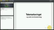 Webinar - Telemarksving