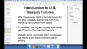 Introduction to U.S. Treasury Futures