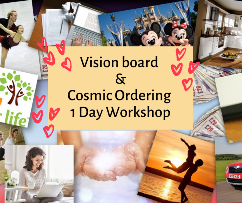 Vision Board & Cosmic Ordering 1-Day Workshop