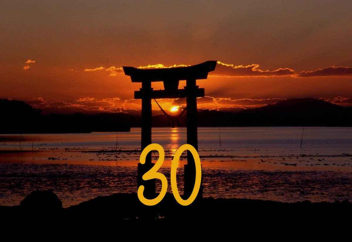 Zon in gate 30