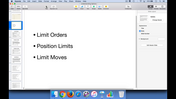 Limit Orders, Position Limits, and Limit Moves