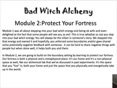 Bad Witch Alchemy Module 2, Protecting your Fortress.mp4