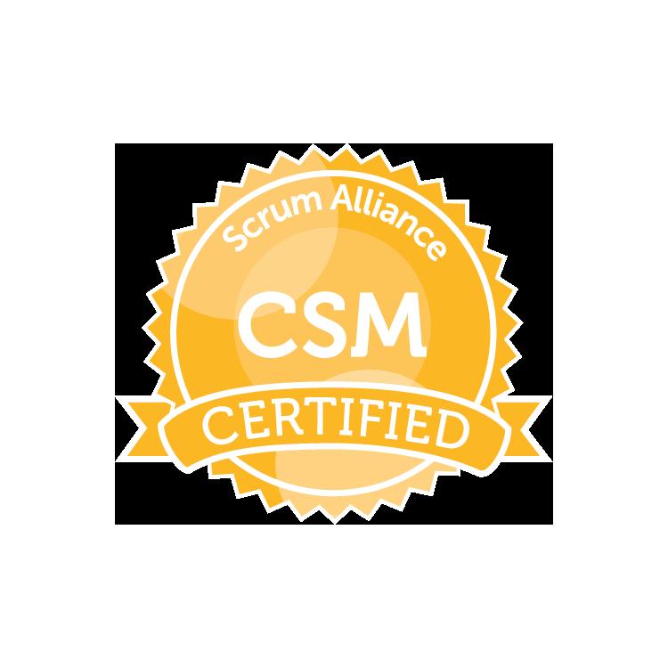 Certified ScrumMaster (CSM211208)