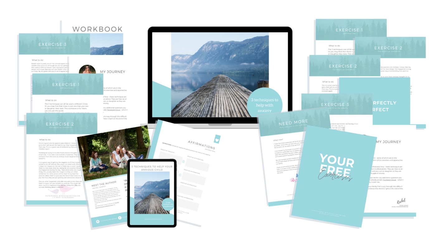 Workbook Promo 3 Mindful Tools with transparent