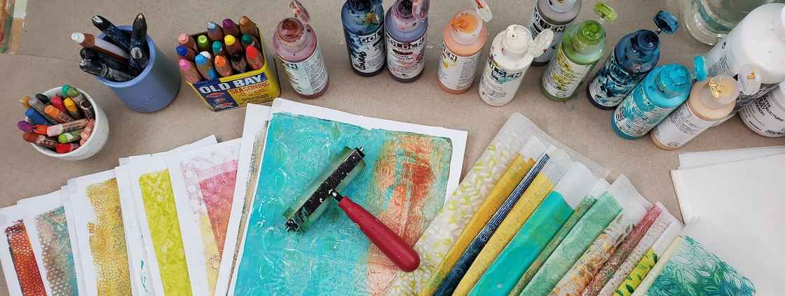 The Layered Page Gelli Printing Papers Kellee Wynne Studios (2)