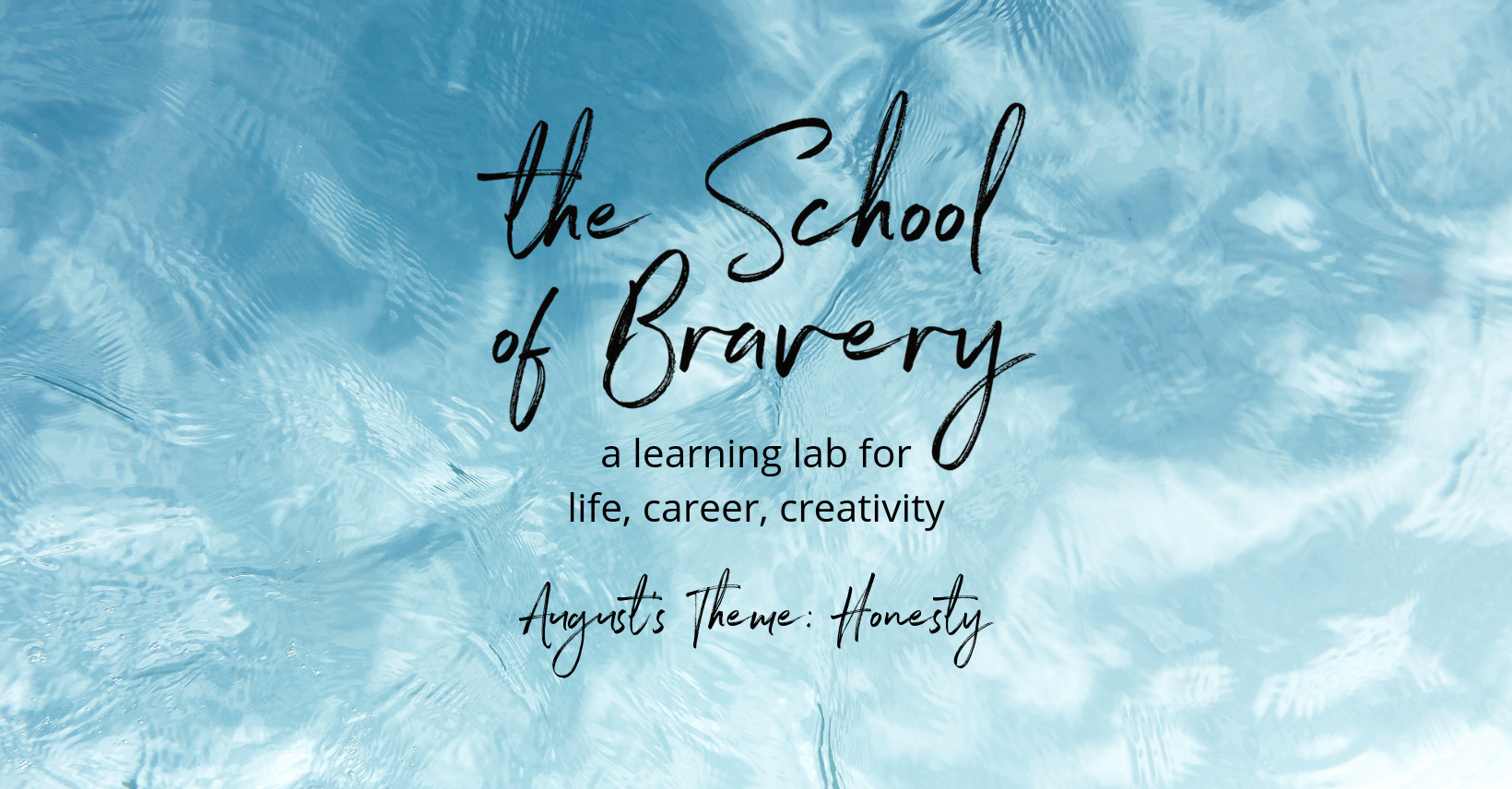 8 - August - FB Cover Image - The School of Bravery
