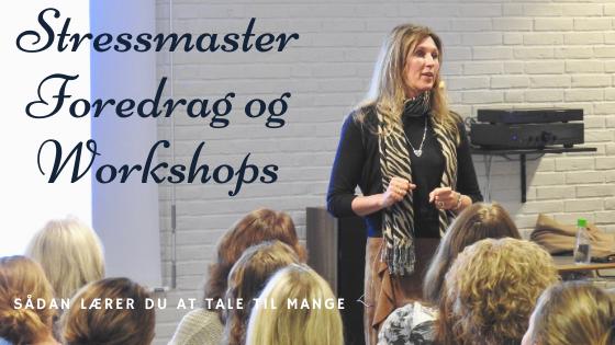 Stressmaster Foredrag og Workshops,  1 dags kursus