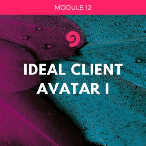 UYM part 2-module 12- ideal client avatar 1