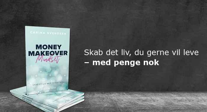 Money Makeover Mindset bogen - FRAGTFRI LEVERING