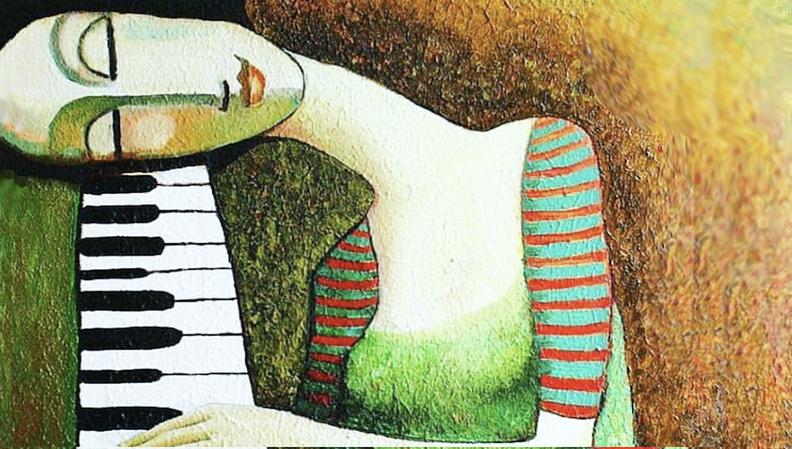 GREEN PIANO LOVE new video thumb nail photoshopped