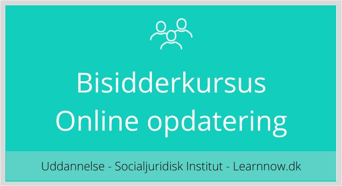 Bisidderkursus - online opdatering
