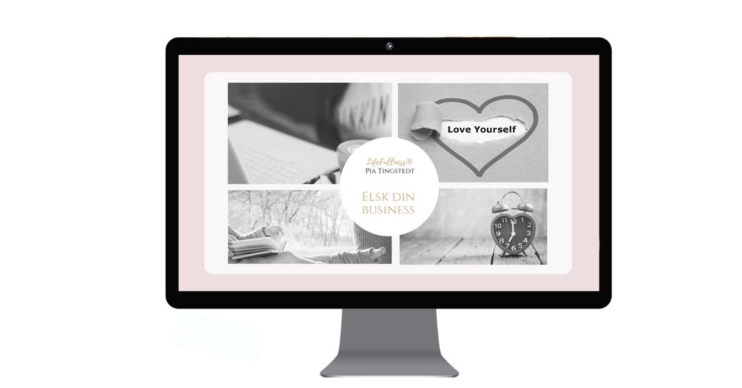Elsk din business - Business i Balance_ Computer Gennemsigtig