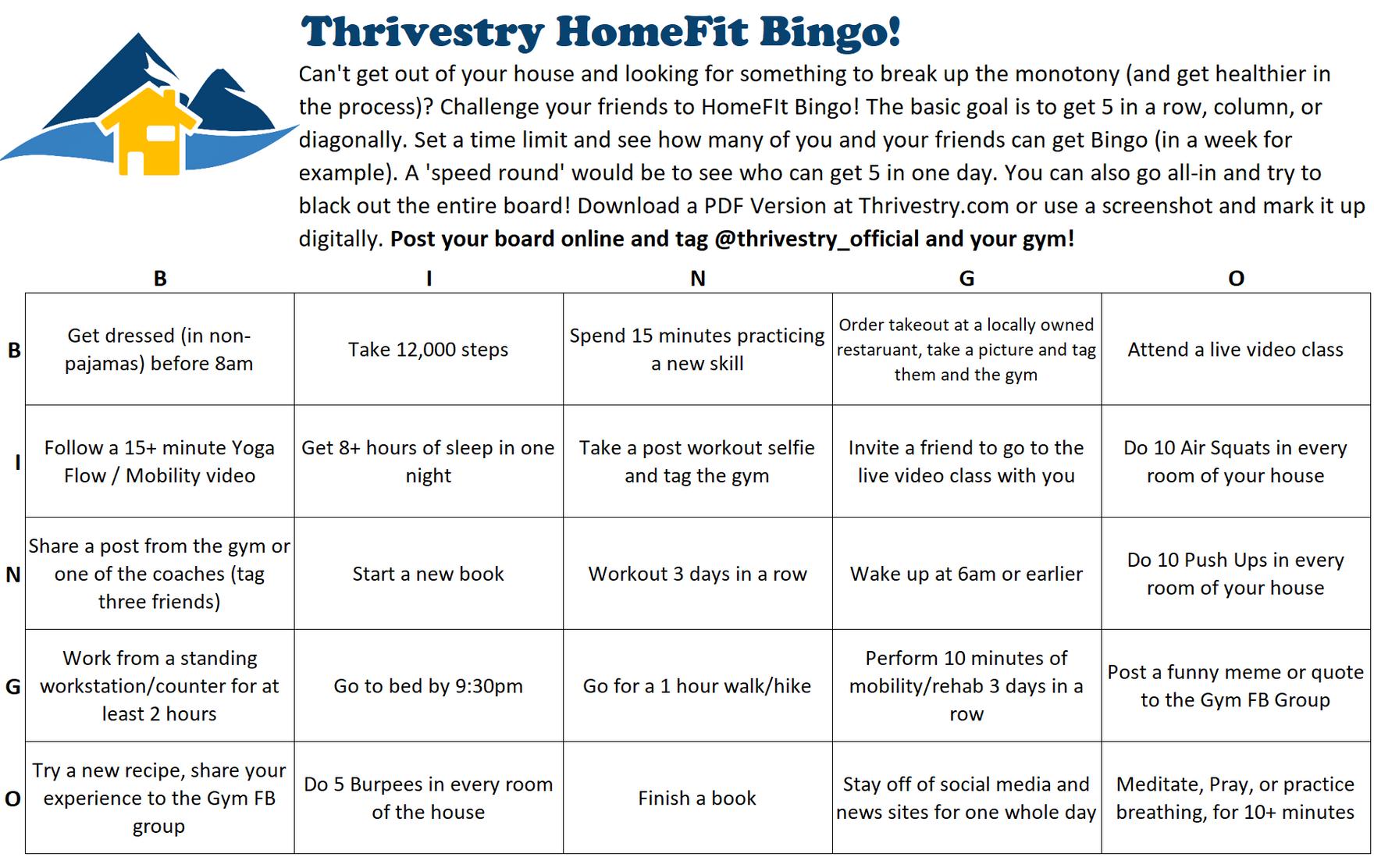 Thrivestry HomeFit Bingo Jpeg