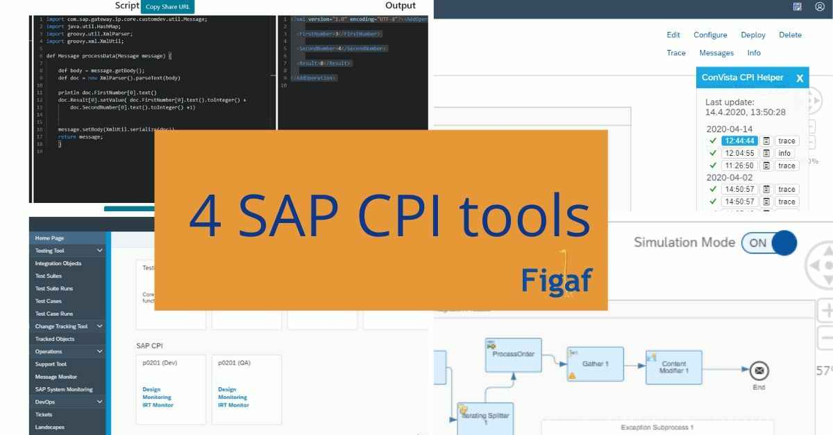 4 SAP CPI tools You should use figaf.com