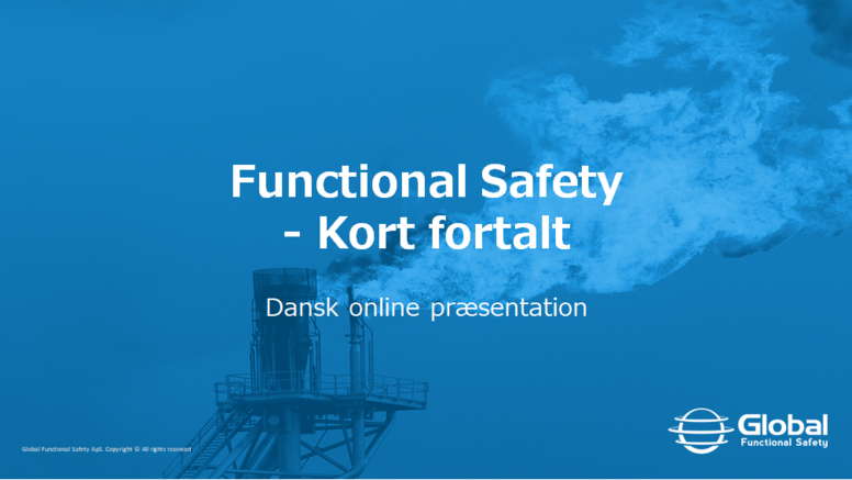 Functional Safety - Kort fortalt