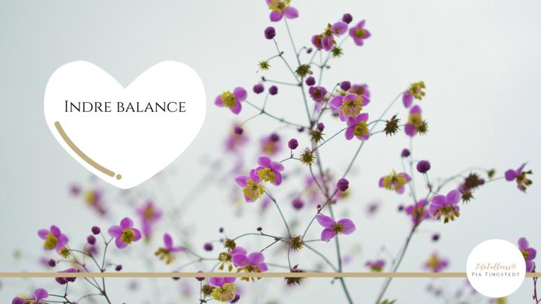 Spirituel living - Indre Balance