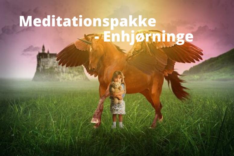 Meditationspakke - De magiske enhjørninge
