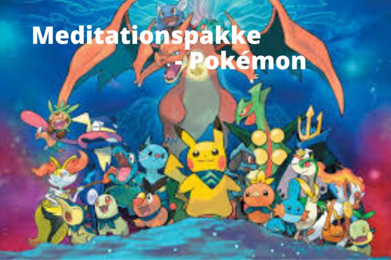 Meditationspakke - Pokémon
